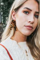 Drew Statement Earrings - Tortoise