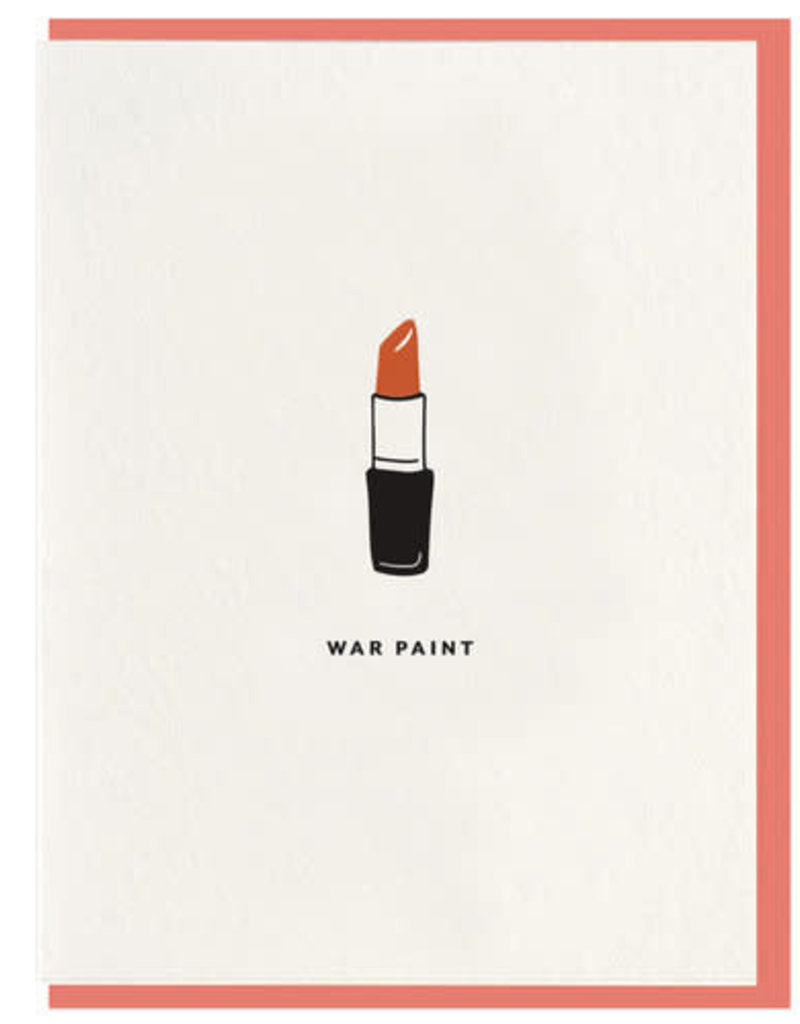 War Paint Card
