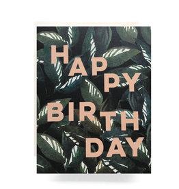 Emerald Forest Birthday Card