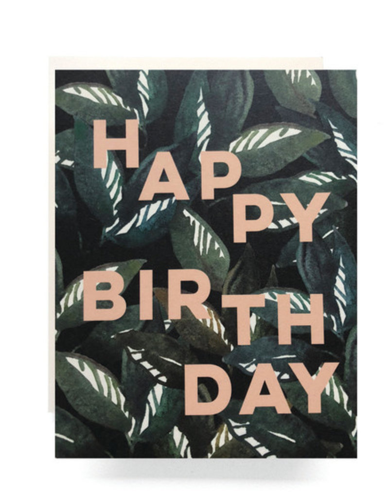Emerald Forest Birthday Card