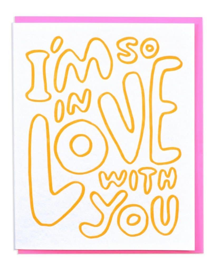 Blob Love Card