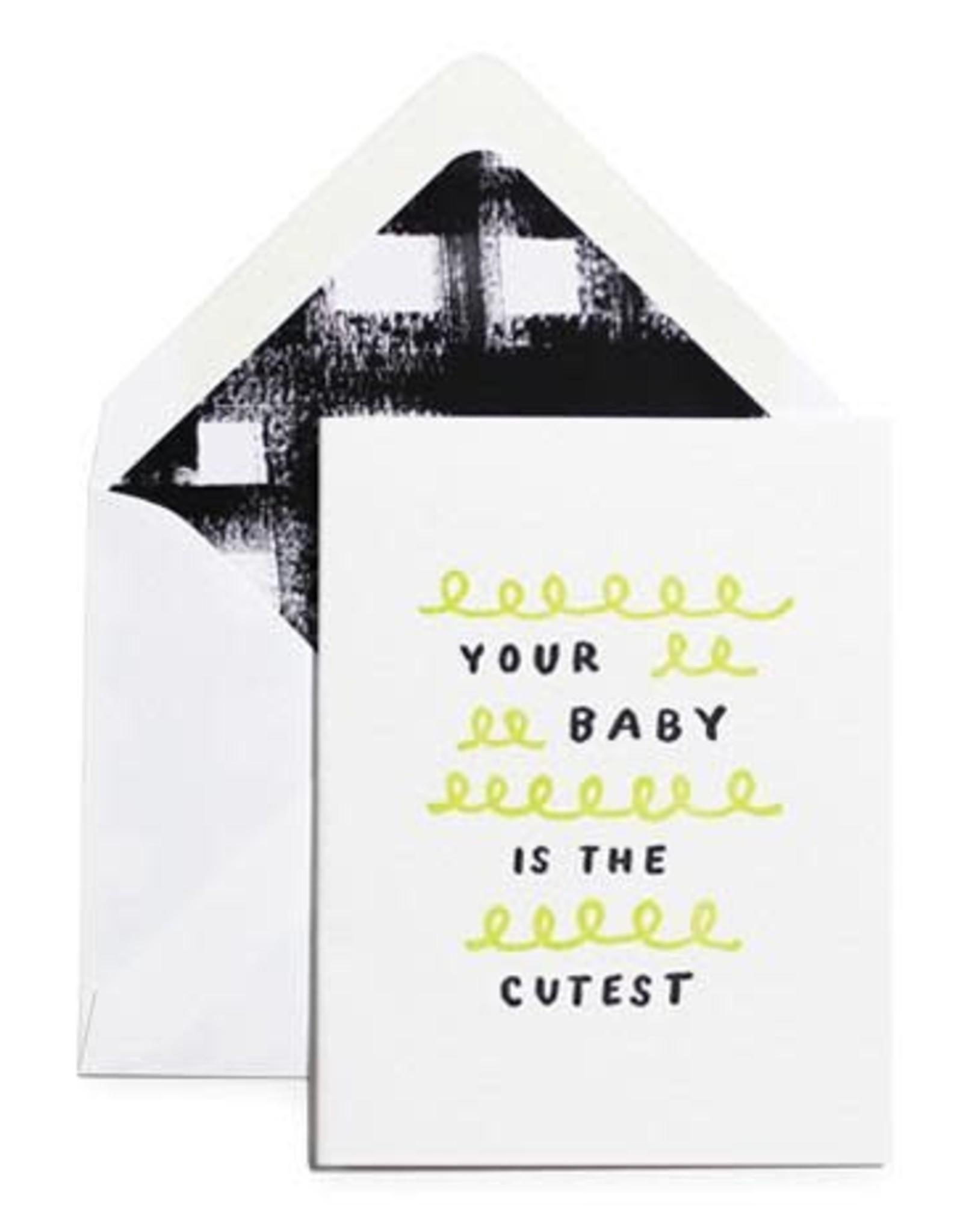 Cutest Baby Card