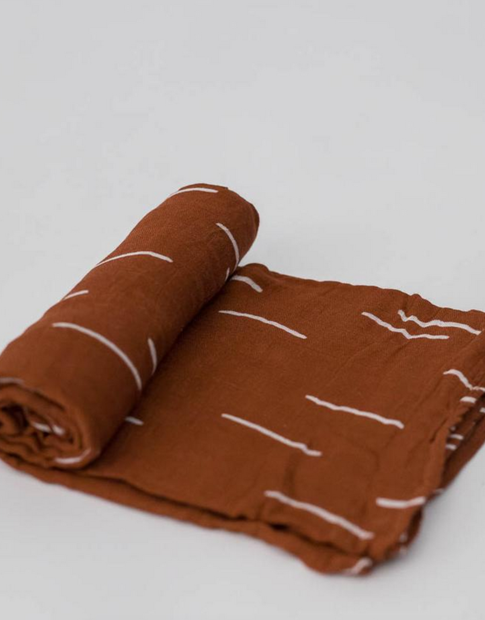 Deluxe Muslin Swaddle Single - Baked Clay