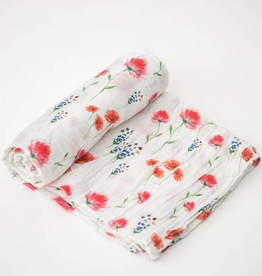 Cotton Muslin Swaddle - Wild Mums