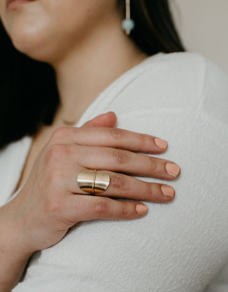 Gold Solo Ring
