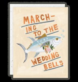 Tuna Wedding Bells Card