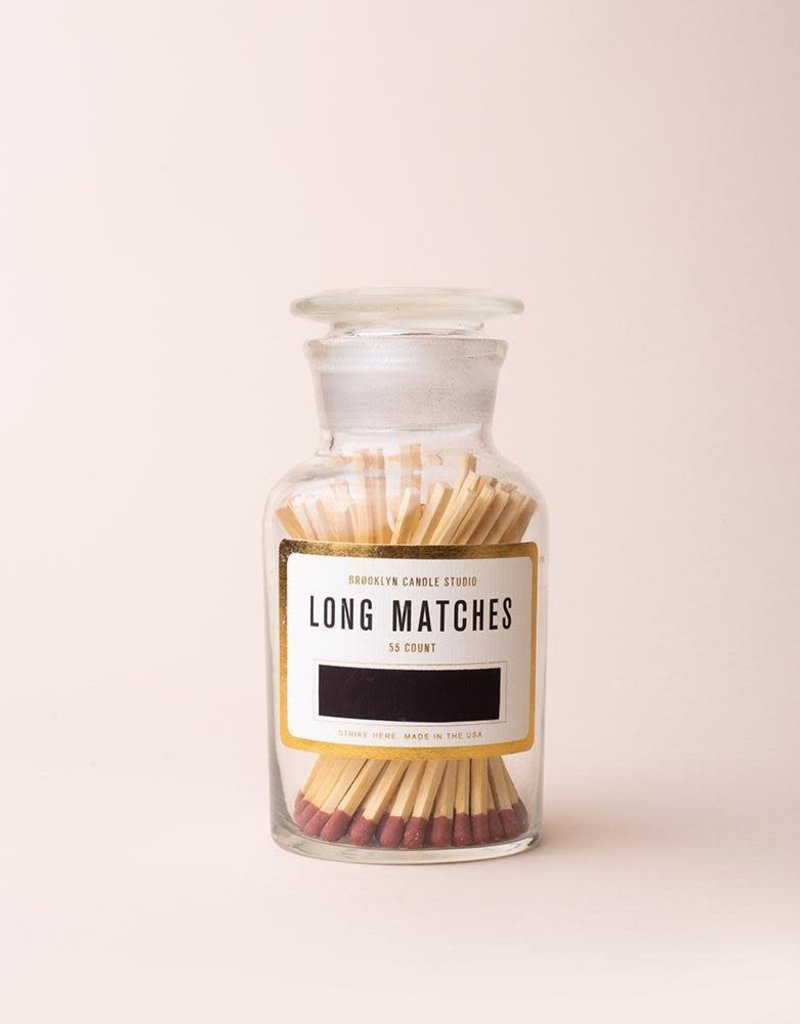 Apothecary Match Bottle - Rust