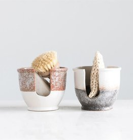 Stoneware Sponge Holder - Rust