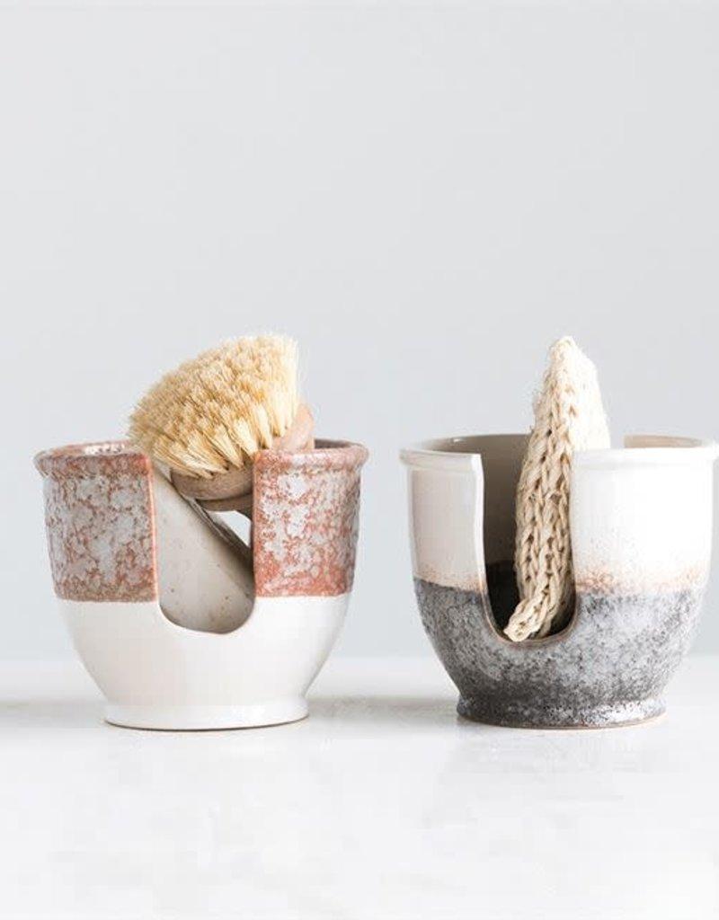 Stoneware Sponge Holder - Grey