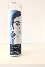 Frida Kahlo Prayer Candle