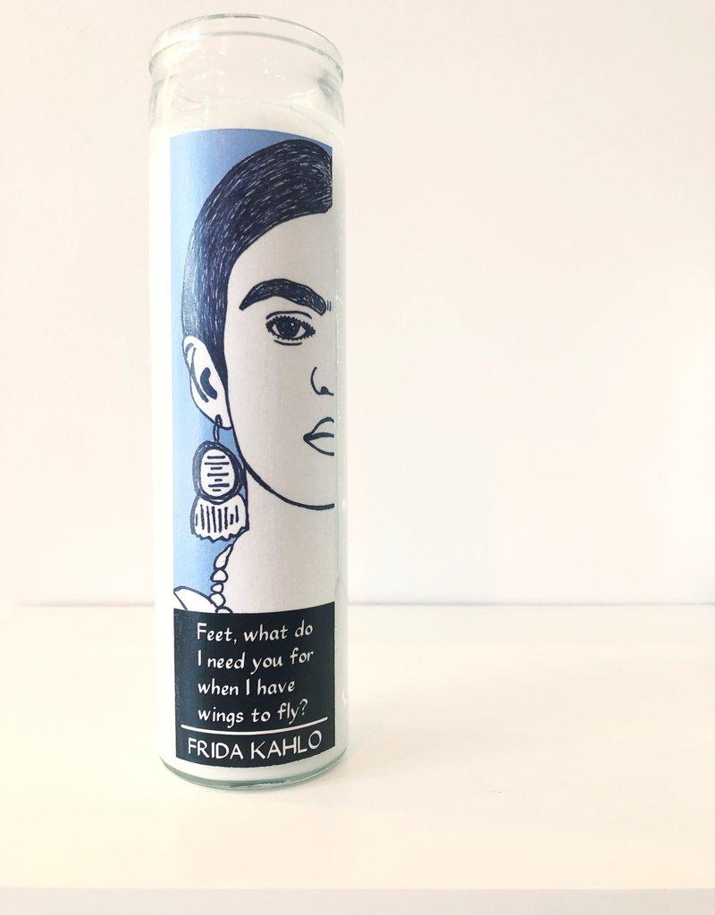 Frida Kahlo Prayer Candle