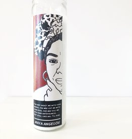Maya Angelou Prayer Candle