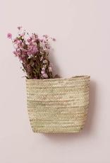 Moroccan Hanging Wall Basket - Small
