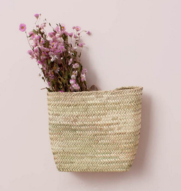 Moroccan Hanging Wall Basket - Small