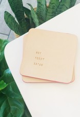 Not Today Satan Coasters - Set of Two