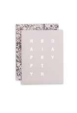 Birthday Stack Card