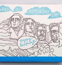 Rushmore Birthday Card