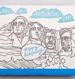 Rushmore Birthday Card