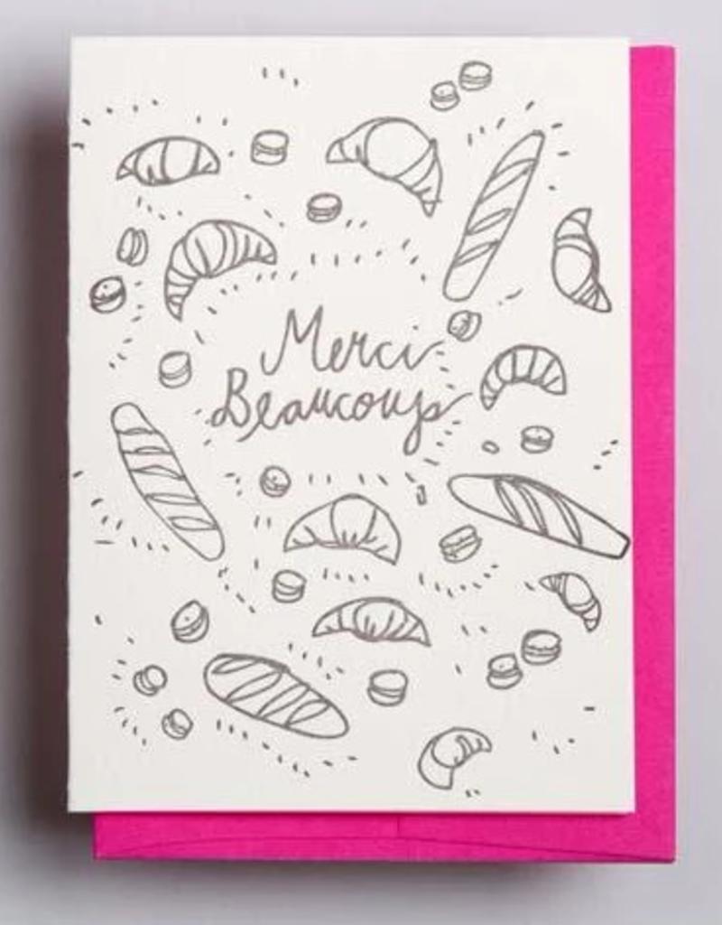 Merci Beaucoup Bread Card