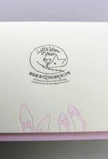 Dancing Feet Wedding Card