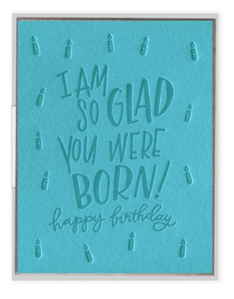 So Glad You Were Born Card
