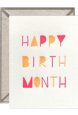 Happy Birth Month Card