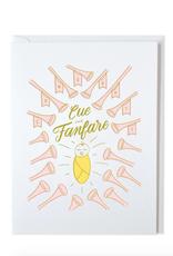 Cue the Fanfare Card