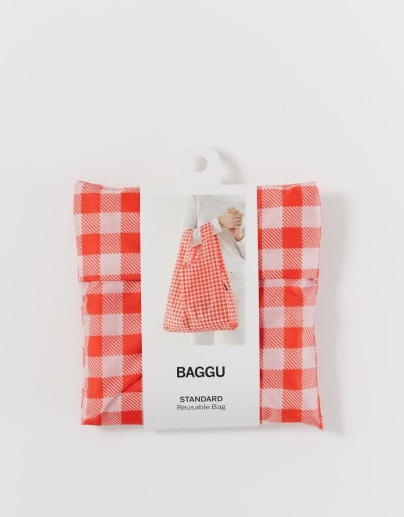 Standard Baggu - Red Gingham