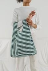 Standard Baggu - Hunter Green Stripe