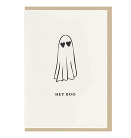 Hey Boo Card