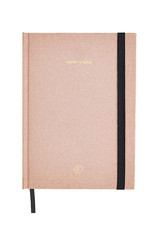Note to Self Journal - Pink Linen