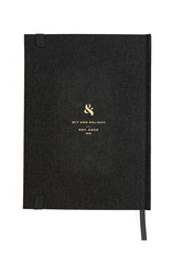 Note to Self Journal - Black Linen