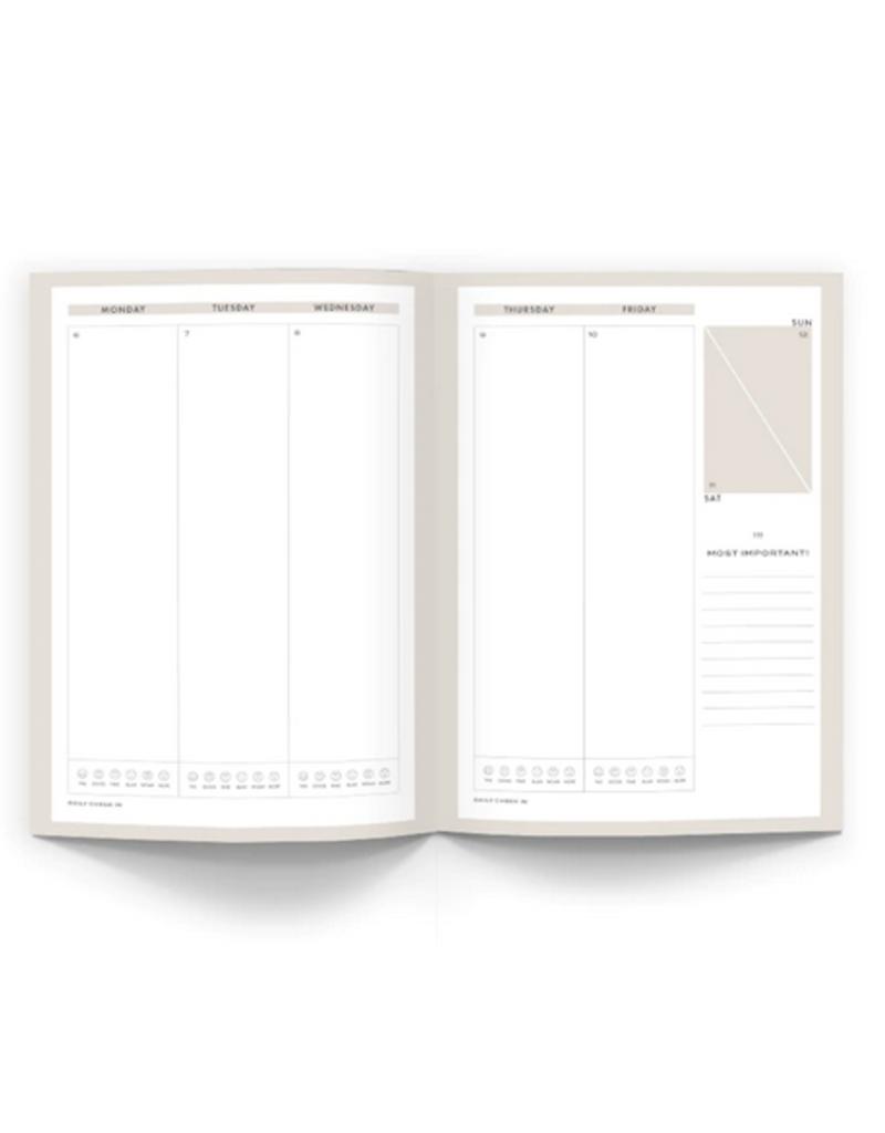 2020 Planner - Black Linen