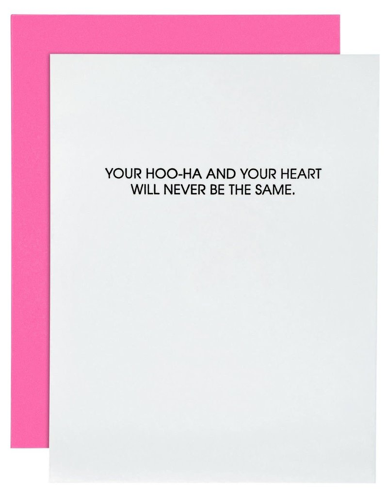 Your Hoo-Ha And Your Heart Card
