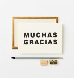 Muchas Gracias Card
