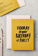 Extract Let's Party Card