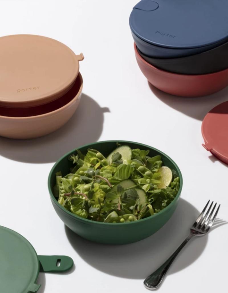 Porter Bowl - Plastic - Tan