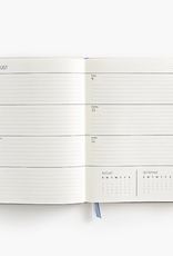 2019-2020 Dove Grey Large Planner