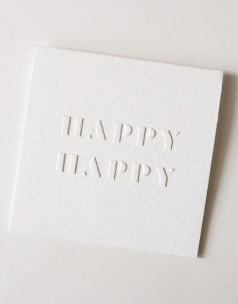 Happy Happy Macho Card