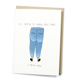 Long Ass Time Card