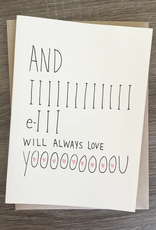 I Will Always Love YouCard
