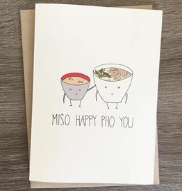 Miso Happy Pho You Card