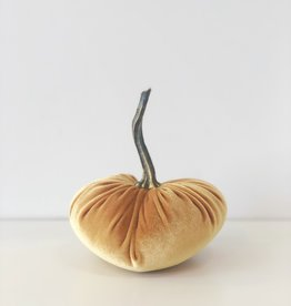 Small Velvet Pumpkin