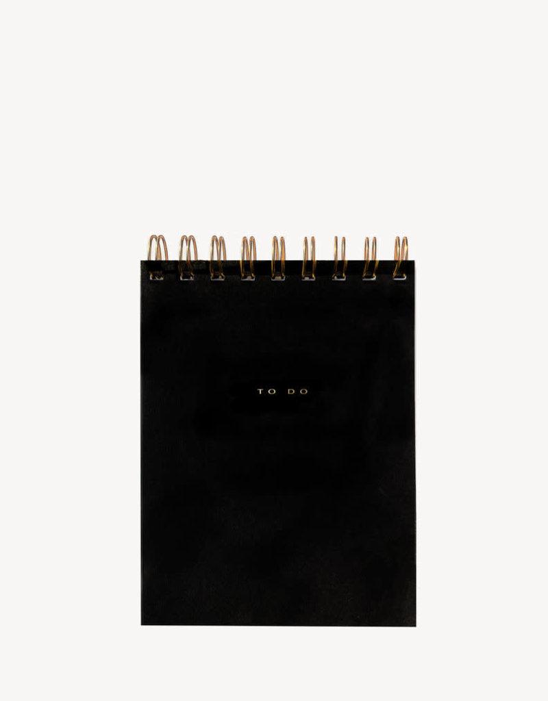 To Do Desk Pad in Noir