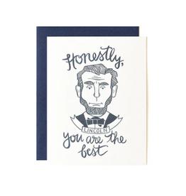 Honest Abe Card