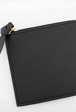 Half Moon Clear Crossbody - Black