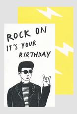 Rock On Card