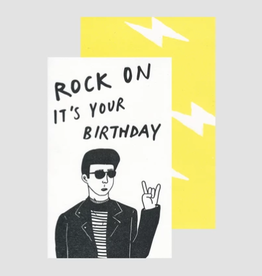 Rock On Card