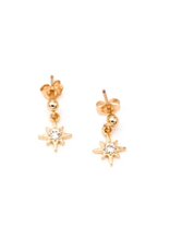 North Star Post Earrings