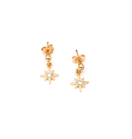 North Star Post Earrings